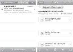 Email storage