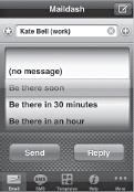 Using Maildash