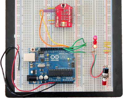 Wifly Arduino Circuit
