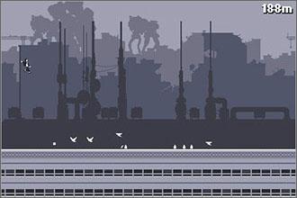 Canabalt Screenshot