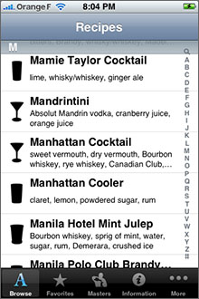 Cocktails+ Screenshot