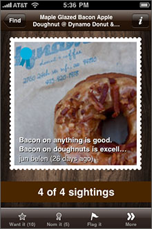 Foodspotting Screenshot