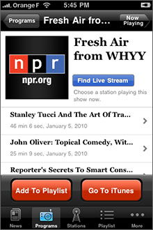 NPR News Screenshot