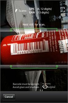 RedLaser Screenshot
