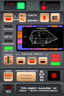 Tricorder TR-580 Screenshot