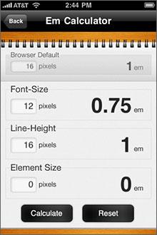 The Typography Manual Screenshot