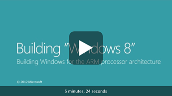 Building Windows for the ARM processor architecture
