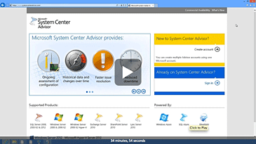 Proactive Datacenter Monitoring using System Center Advisors