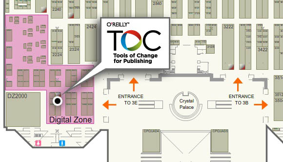 Stop by the TOC Booth at Book Expo America (BEA)