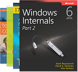 covers of Microsoft Press books