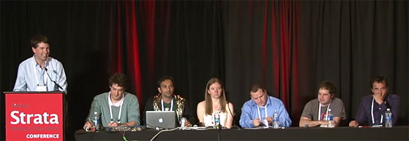 Data Science Debate panel at Strata CA 12