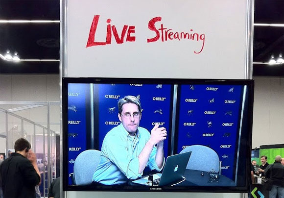 O'Reilly live broadcast from OSCON 2011