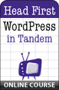 Online Course: Head First WordPress in Tandem